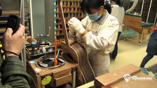 Fabrication Guitare Yamaha à Hangzhou (Chine)