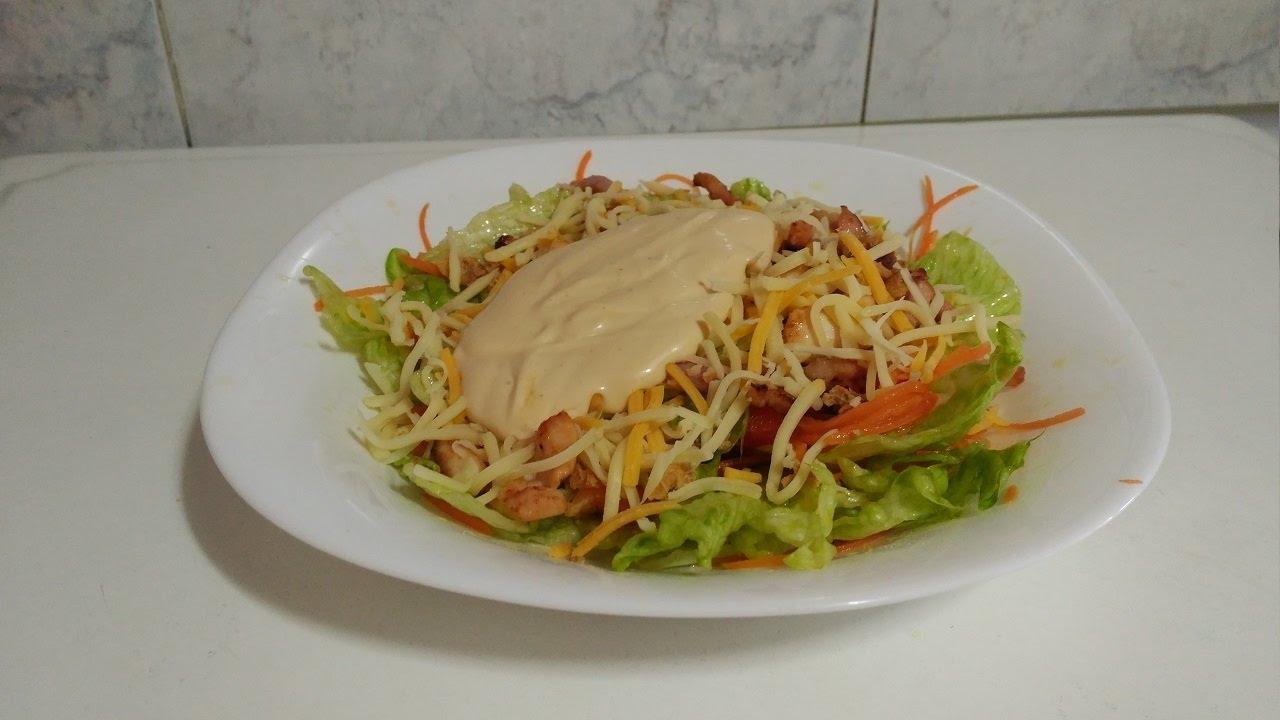 Receta ensalada Sureña del restaurante vips - ensalada de pollo y ...