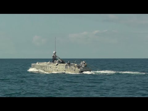 Initial In-Water Testing of Northrop Grumman's AQS-24 Mine Hunting Sonar