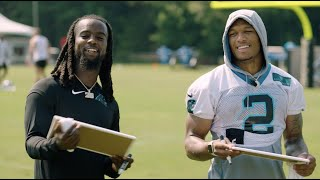 Head 2 Head With Donte Jackson And DJ Moore