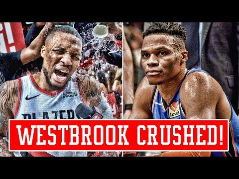 DAMIAN LILLARD DESTROYS THUNDER IN MOST SAVAGE WAY POSSIBLE! WESTBROOK HATE AT ALL TIME HIGH!