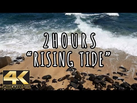 RISING TIDE | Endless Waves Crashing on a Balinese Shore | 2 HOURS 2016 (HD)