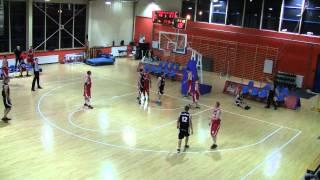 ALK Wro-Basket, 29. edycja. Mateusz Gron (TST Kogeneracja SA) blok