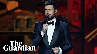 Jack Whitehall pays tribute to Caroline Flack at Brit awards