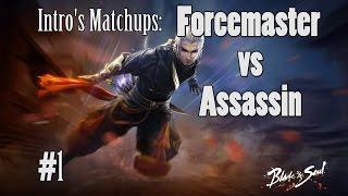 Blade & Soul - Force Master vs Assassin! 1080p60fps
