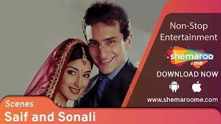 Most funny romantic scenes | Saif Ali Khan - Sonali Bendre | Twinkle | Love Ke Liye Kuch Bhi Karega