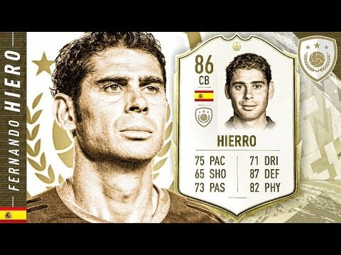 WORTH THE UNLOCK?! FIFA 20 ICON SWAPS 86 HIERRO REVIEW! FIFA 20 Ultimate Team