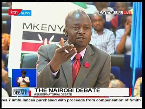 Nairobi Gubernatorial debate
