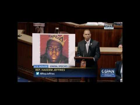 Rep. Jeffries Celebrates The Life Of Biggie Smalls On The House Floor - YouTube