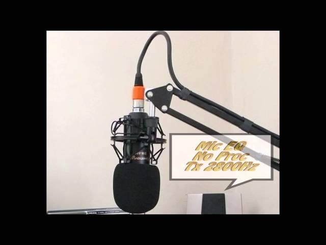 Radio Ham Studio Mic Slapdown