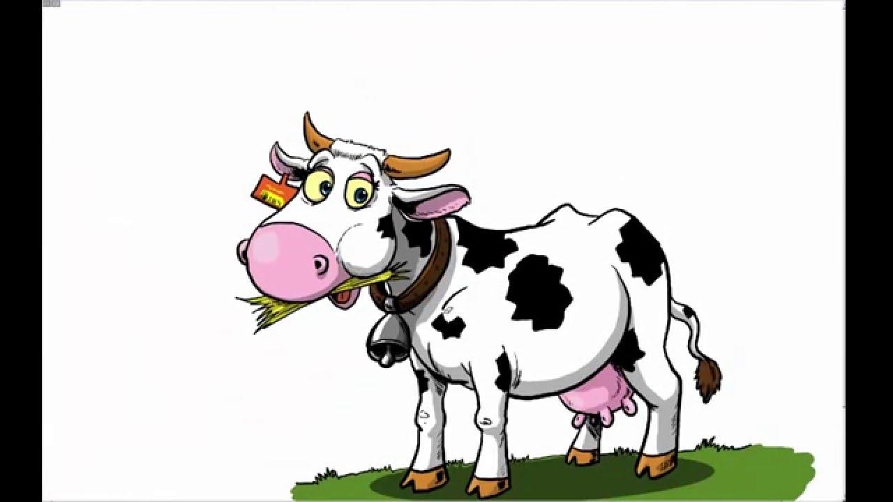Dessiner une vache youtube - Dessiner une vache ...