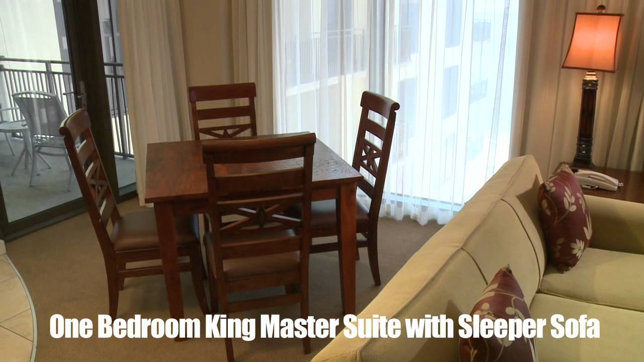 Origin At Seahaven One Bedroom King Master Suite With Sleeper Sofa Youtube