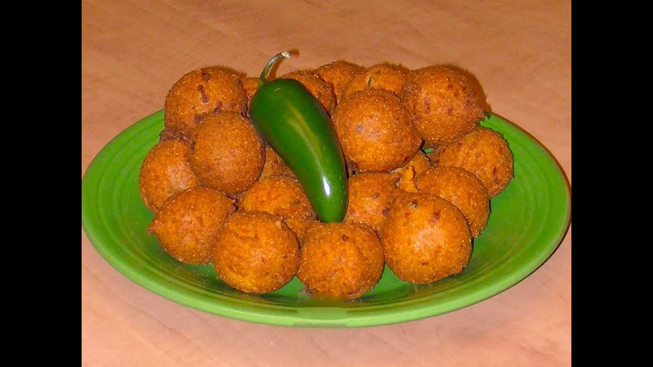 Hush Puppies - Recipe with Michael's Home Cooking - YouTube