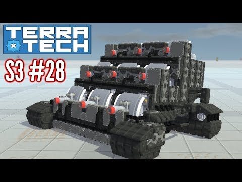 Terratech | Ep28 S3 | Artillery Tech Finished!! | Terratech v0.7.9.2 Gameplay