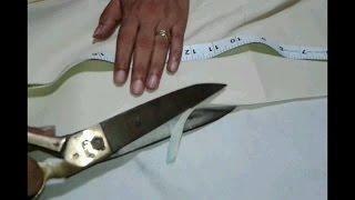 Palazzo pants cutting and stitching in hindi