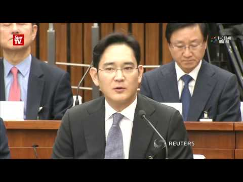 Samsung boss grilled for 22 hours in bribery case