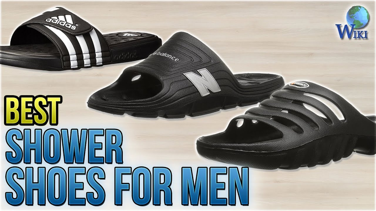 ab2fcb0a41d3 10 Best Shower Shoes for Men 2018 - YouTube