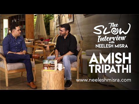 Amish Tripathi – The Slow Interview with Neelesh Misra