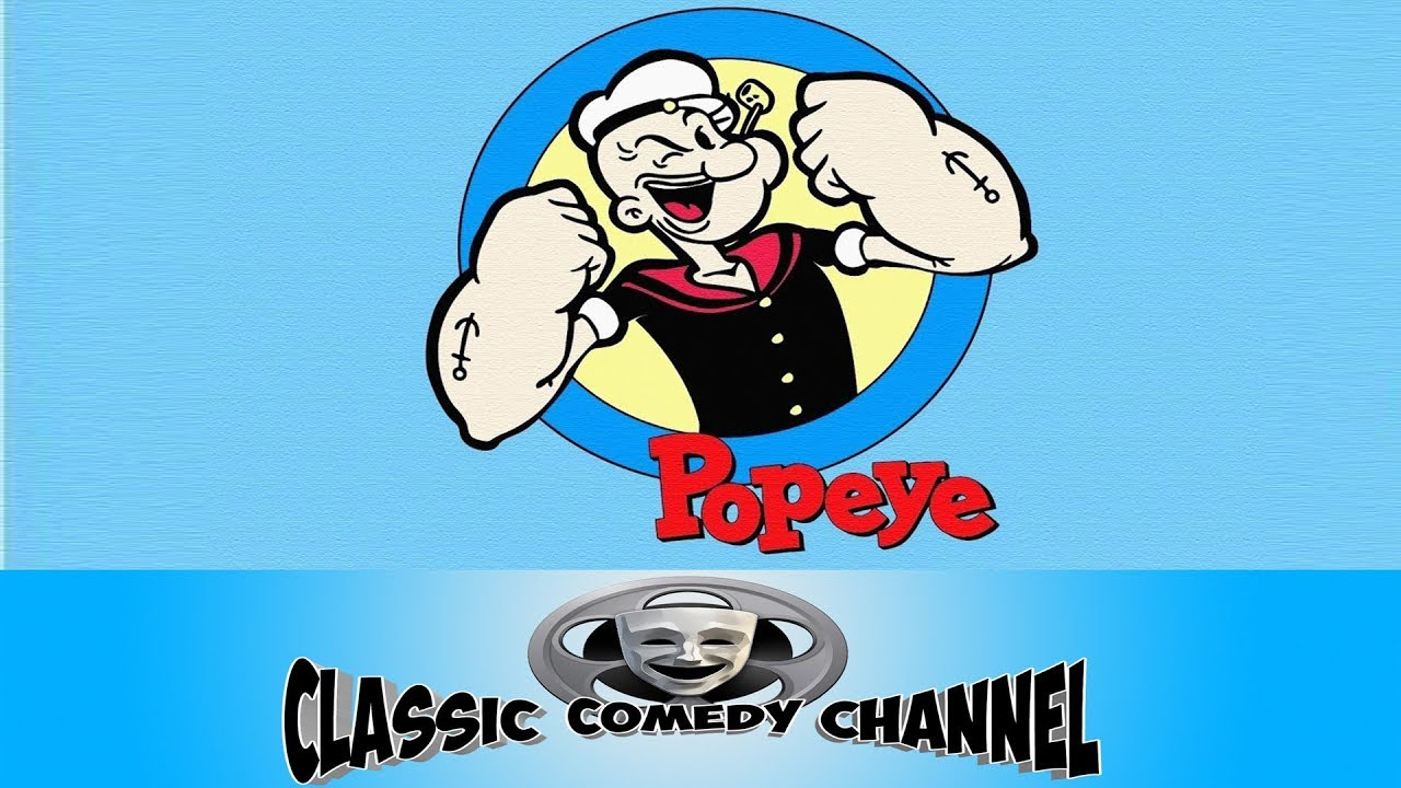 Popeye The Sailor Man Cartoon Compilation - Volume 1 Remastered HD