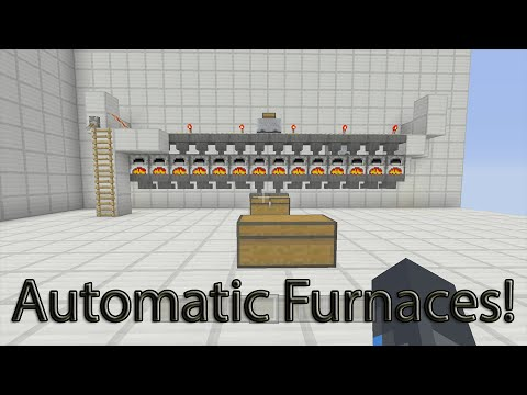 Minecraft Xbox One - Minecart Automatic Furnace System How ...