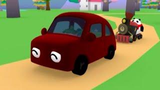 Развивающий мультфильм - Руби и Йо-Йо -  Паровозики thumbnail