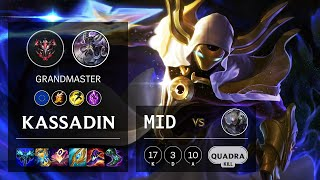 Kassadin Mid vs Diana - EUW Grandmaster Patch 11.8
