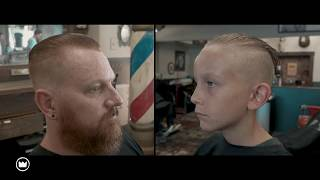 Father Son Barber Experience   Imperial Barber Products