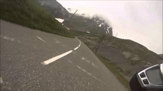 Peter von Sphinx mit Speed Triple zum Col du Galibier