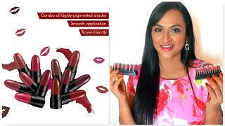 Stay Quirky Mini Lipsticks Tamil Review & Demo   CheezzMakeup   Tamil Makeup Channel