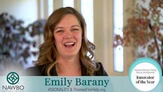 2018 Innovator of the Year Award - Emily Barany