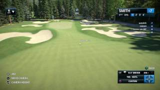 Hole in one on par 4 17th hole banff springs