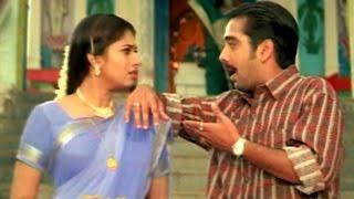 Lahiri Lahiri Lahirilo Movie    Vineeth & Sanghavi Comedy Scene at Temple    Aditya, Ankhita