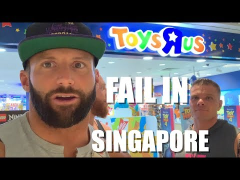 Toys R Us Fail In Singapore!
