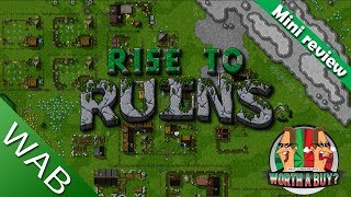 Rise to Ruins Mini Review - A little Gem (Video Game Video Review)