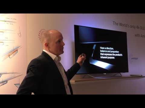 Philips 4K Neuheiten 2017 - Design erklärt von Rod White + Google Voice Demo