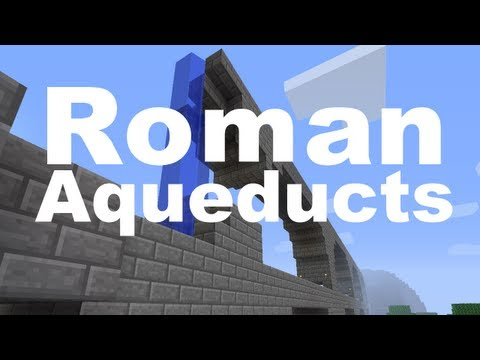 Minecraft Build - Roman Aqueducts