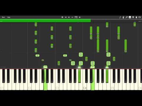 Gin-no-saji-s2-life - [Synthesia] Piano Cover