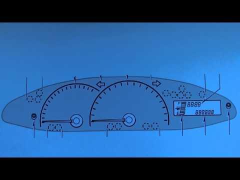Toyota Yaris Mk2 Dashboard Warning Lights & Symbols - What They Mean