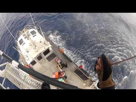 MDFR Hoist Operation on Distressed Diver