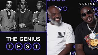 Coach K & Pee Take The Quality Control Quiz | The Genius Test