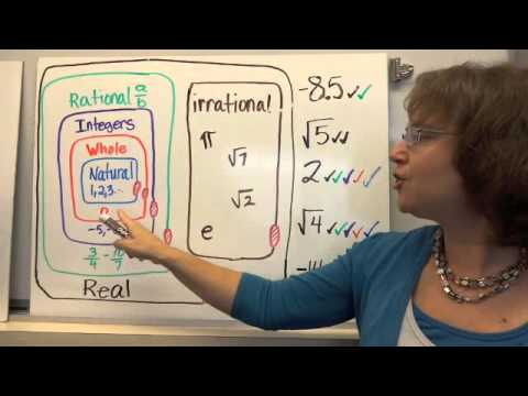 Classifying Real Numbers