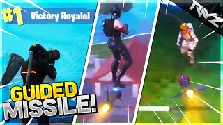 NEW GUIDED MISSILE IS OP! GUIDED MISSILE VICTORY ROYALE + ROCKET RIDING! Fortnite: Battle Royale