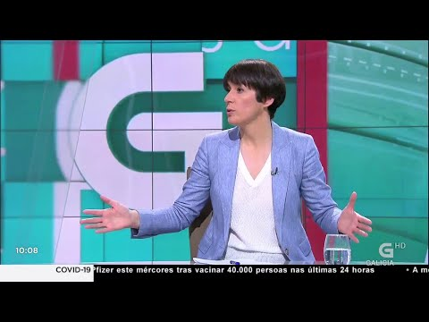 Entrevista a Ana Pontón na TVG
