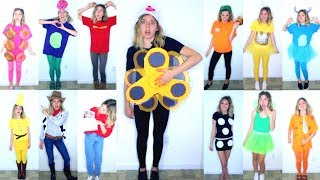 15 DIY Last Minute Halloween Costumes!! | Easy, Fast, and Cheap!!