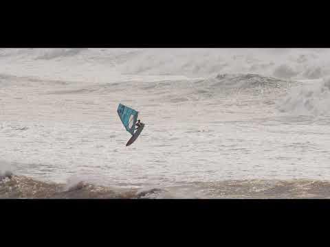 Epic giant waves! Windsurfing Morocco Moulay Bouzerktoun