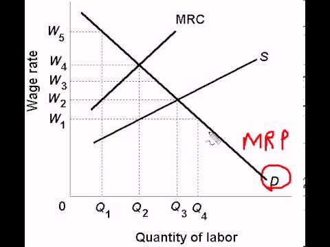 Equilibrium Wage and Employment Under Monopsony