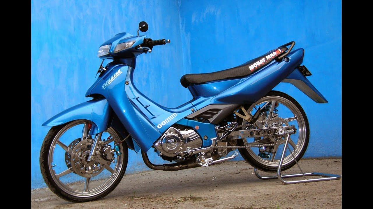 95 Modifikasi Motor Trail Suzuki Satria 2 Tak Terkeren Oneng Motomania