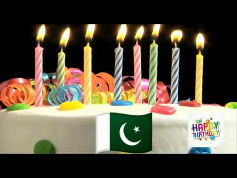 Happy birthday - very nice song Pakistan