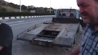 Pobeda Georgia Tbilisi Tiflis Berlin 6  Evakuator samy lutshi drug Pobedy   Wrecking car  Best frien