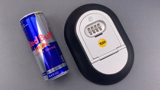 [1092] Opened With a Red Bull Can: Yale Key Lockbox (Model Y500)